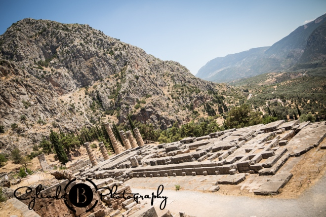 Delphi, Greece-1841