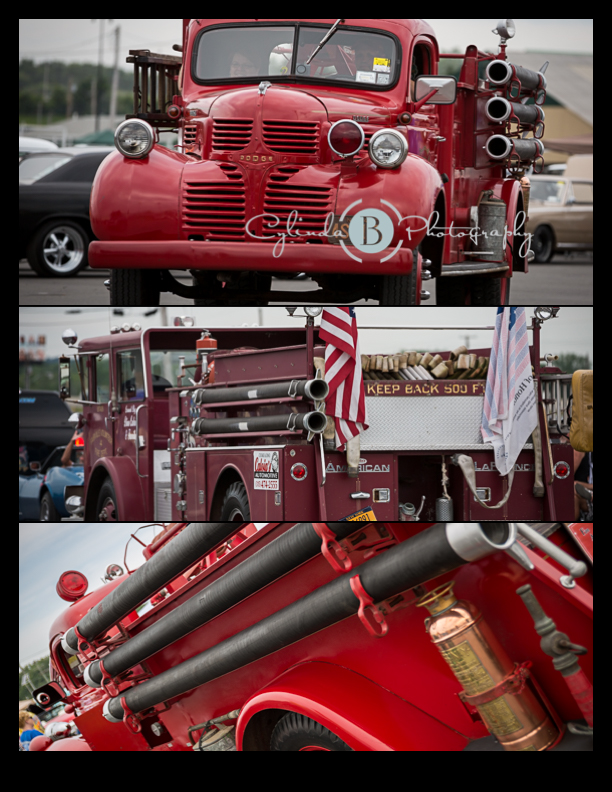 car show, syracuse nationals, firetruck