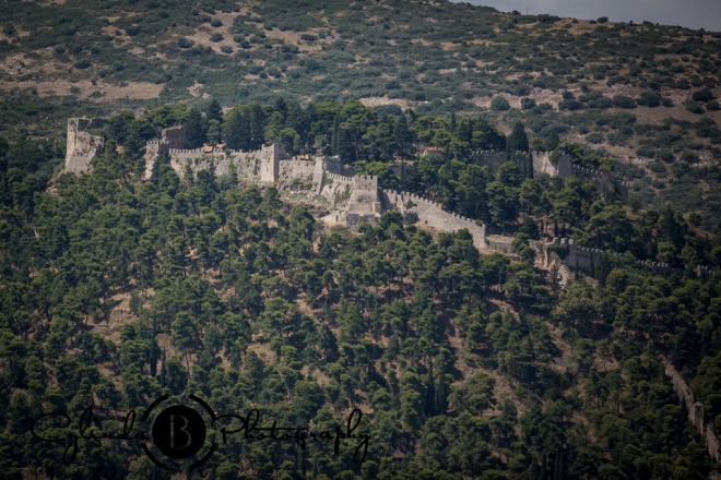 Nafpakos, greece, medieval town, castle