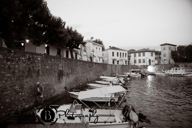 Nafpakos, greece, medieval town, sailboat