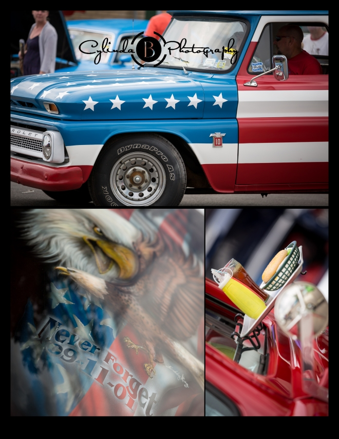 car show, syracuse nationals, american pride, america