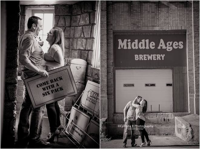 syracuse engagement, Cylinda B Photography, NY, photos, wedding photographer, middle ages brewery