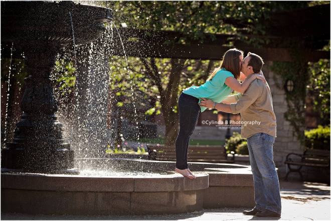 syracuse engagement, Franklin Square, photographer