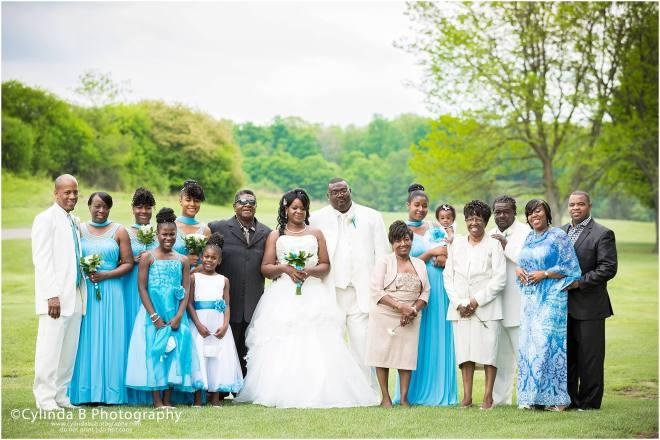 syracuse, NY, wedding, photography, wedding photographer, photos, spring wedding, family portrait, cylinda b photography, golf course