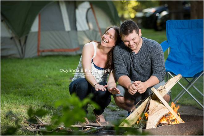 green lakes engagement, photographer, camping