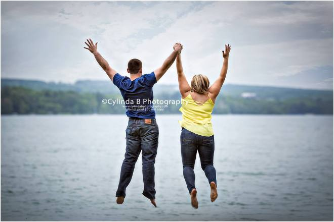 skaneateles, engagement, photos, NY, cylinda b photography, taking the plunge