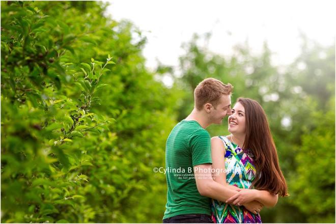 apple orchard engagement, photos, Syracuse, photography, cylinda B photography, Beek n Skiff
