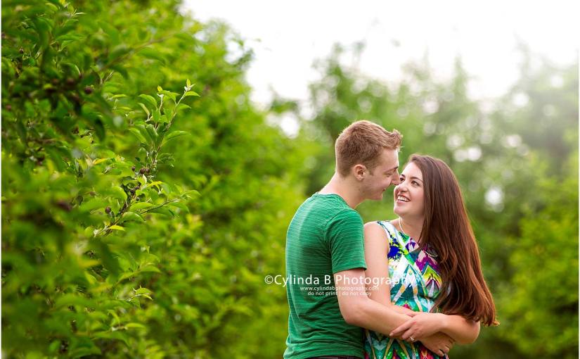 apple orchard engagement, photos, Syracuse, photography, cylinda B photography, Beek n Skiff