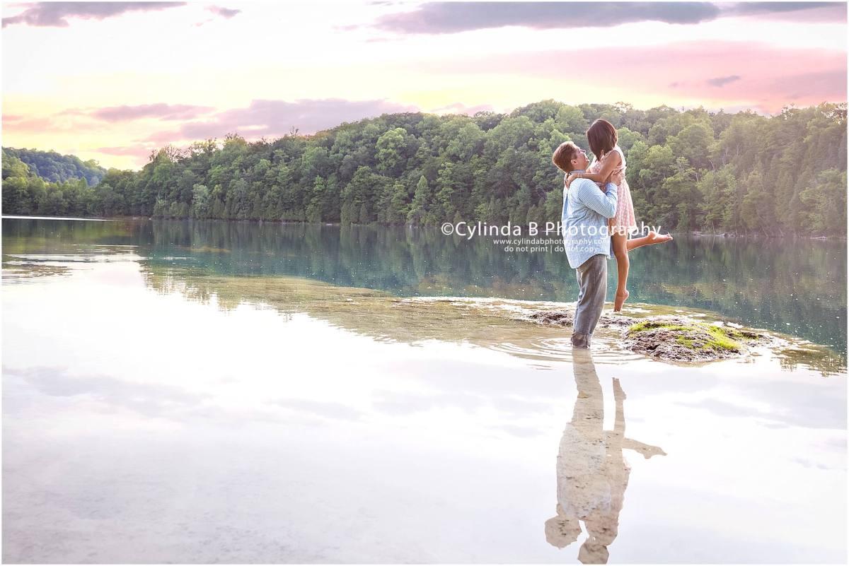 Green Lakes Engagement | Shaun + Ana