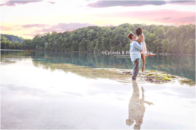 green lakes, engagement, syracuse, photographer, cylinda B photography