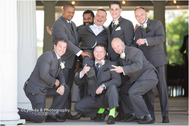 wedding, photography, emerson park, auburn, cylinda b photography, groomsmen