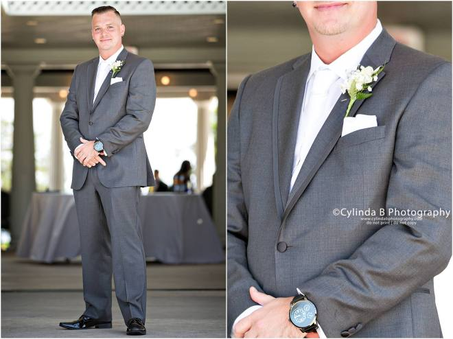 wedding, photography, emerson park, auburn, cylinda b photography, groom
