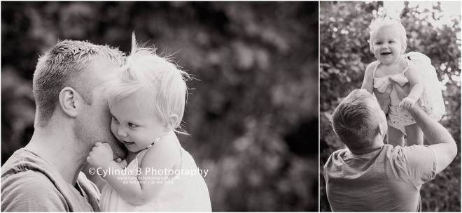 syracuse, ny, photography, cake smash, cylinda b photography, baby girl, dad