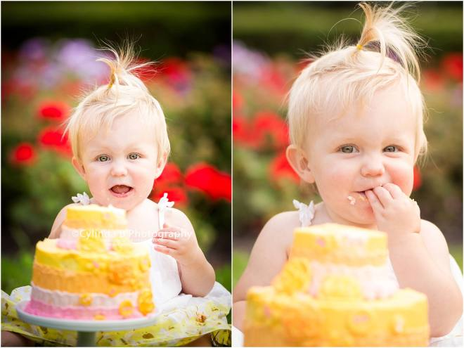 syracuse, ny, photography, cake smash, cylinda b photography, baby girl