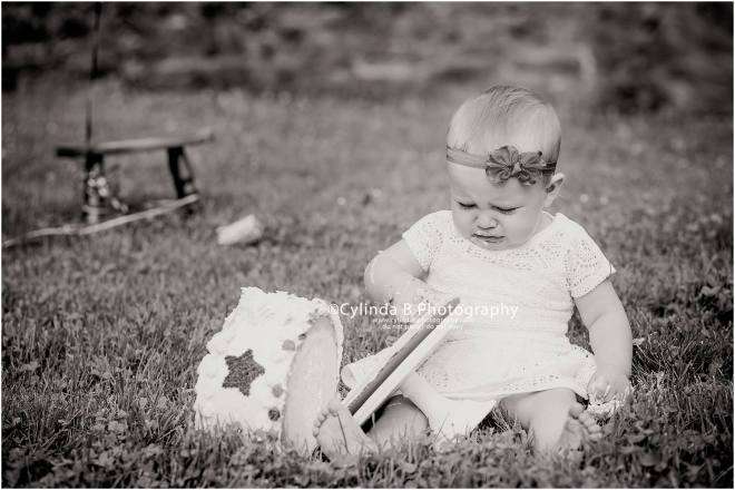 Syracuse photography, Cake smash, Cylinda B photography, baby-13