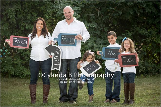 Gender Reveal, Cake, Family Portraits, Cylinda B Photography, Syracuse-5