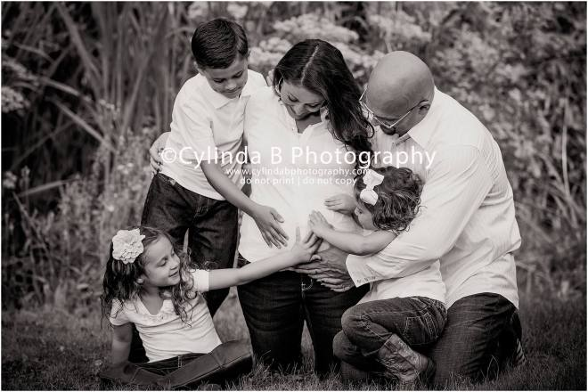 Gender Reveal, Cake, Family Portraits, Cylinda B Photography, Syracuse-7