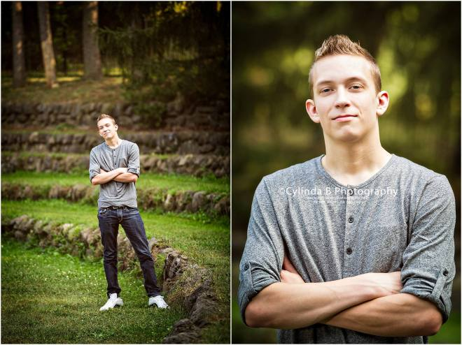 Thorndon Park, Senior portraits, Cylinda B Photography, boy-4