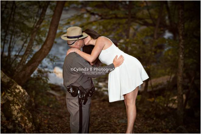 Fillmore Glen Engagement, waterfall engagement, men in blue, engagement, syracuse, cylinda b photography