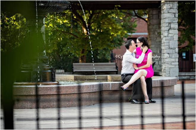Franklin Square, Engagement, City Engagement, Photo, Cylinda B Photography-1