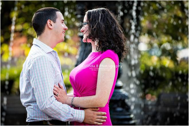 Franklin Square, Engagement, City Engagement, Photo, Cylinda B Photography-6