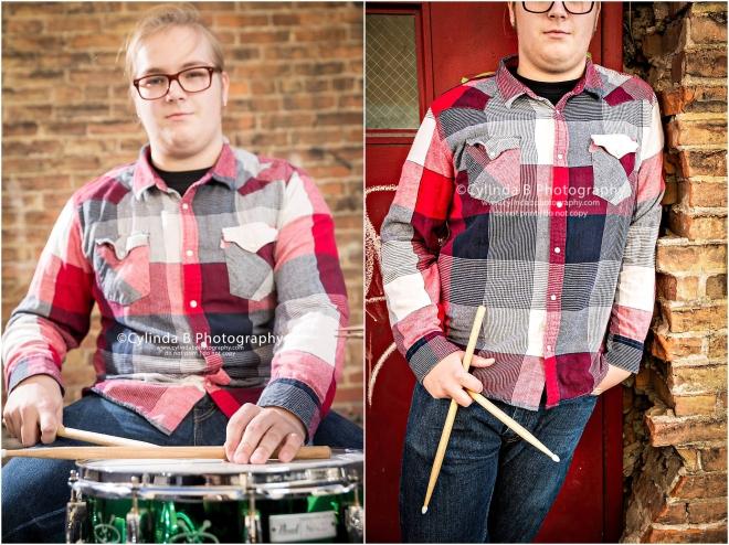 Syracuse Senior Portraits, Drummer, senior guy-4