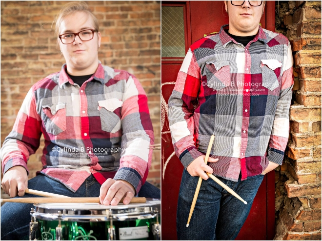 Syracuse Senior Portraits, Drummer, senior guy-4