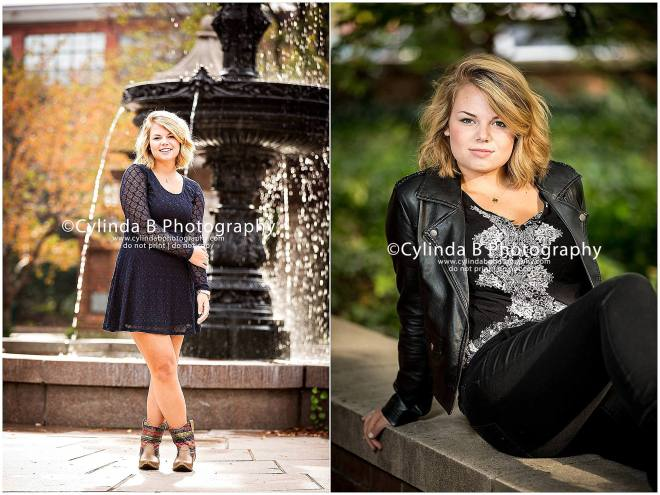 Franklin Square, Syracuse, senior portraits, girl, portrait, downtown portraits, Cylinda B Photography-20