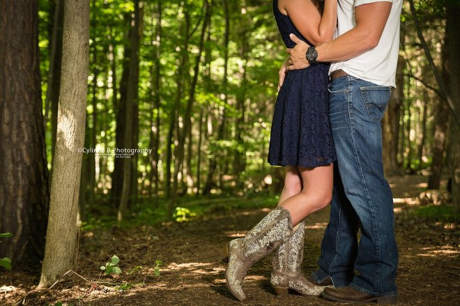 Syracuse Engagement, Beaver Lake, Cylinda B Photography, The Farm, Country Engagement-10