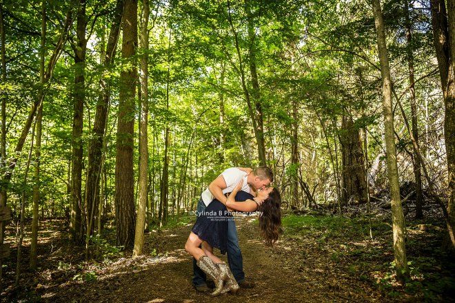 Syracuse Engagement, Beaver Lake, Cylinda B Photography, The Farm, Country Engagement-4