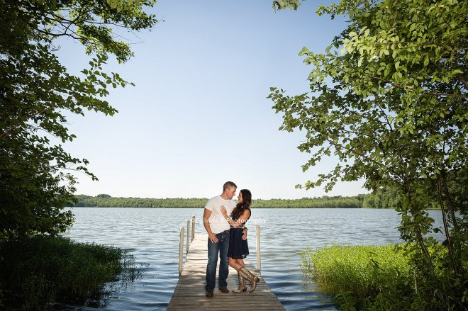 Syracuse Engagement, Beaver Lake, Cylinda B Photography, The Farm, Country Engagement-9