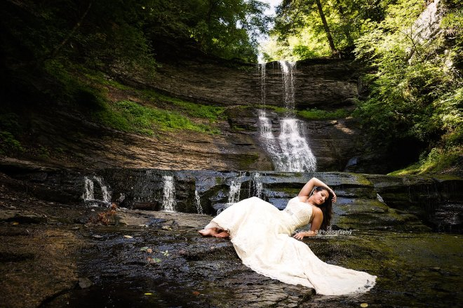 trash the dress, waterfall, carpenter falls, cylinda b photography-10
