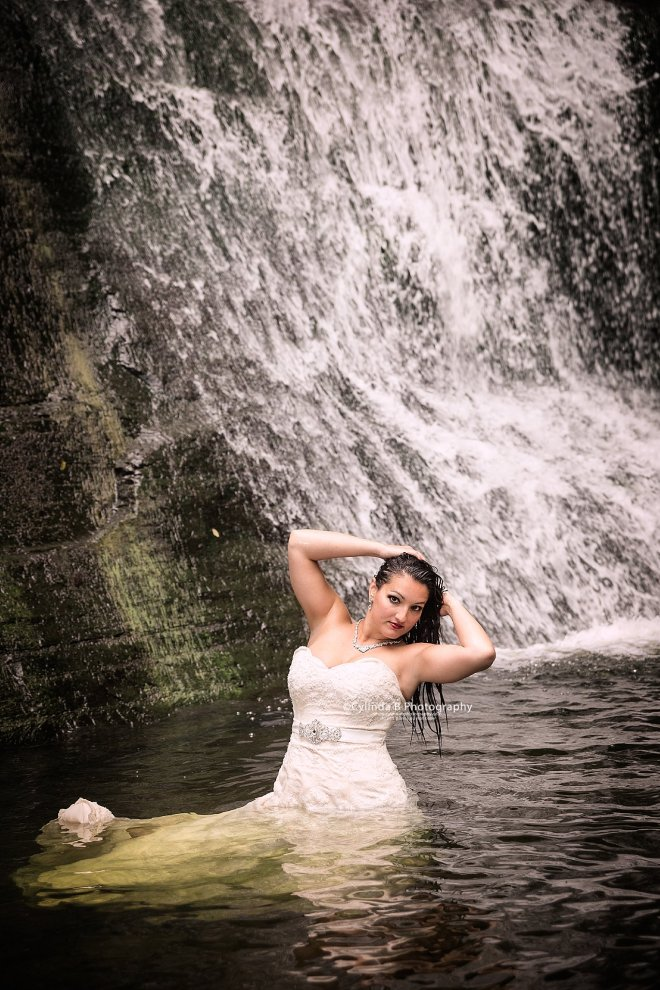 trash the dress, waterfall, carpenter falls, cylinda b photography-12