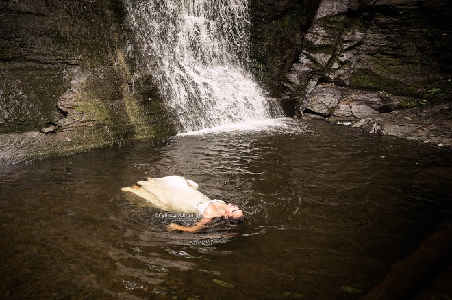 trash the dress, waterfall, carpenter falls, cylinda b photography-13