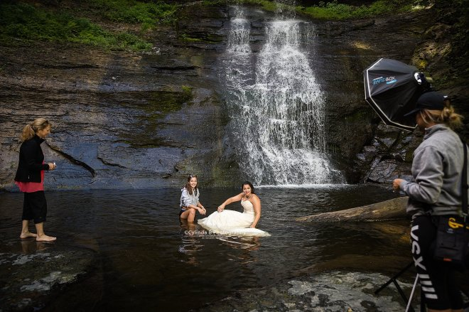 trash the dress, waterfall, carpenter falls, cylinda b photography-15