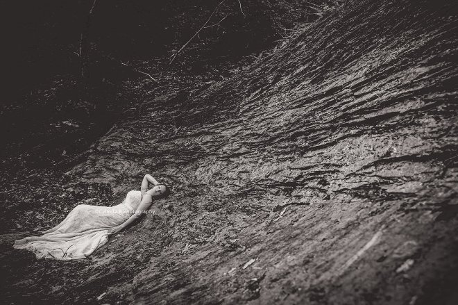 trash the dress, waterfall, carpenter falls, cylinda b photography-17