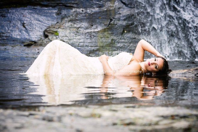 trash the dress, waterfall, carpenter falls, cylinda b photography-5