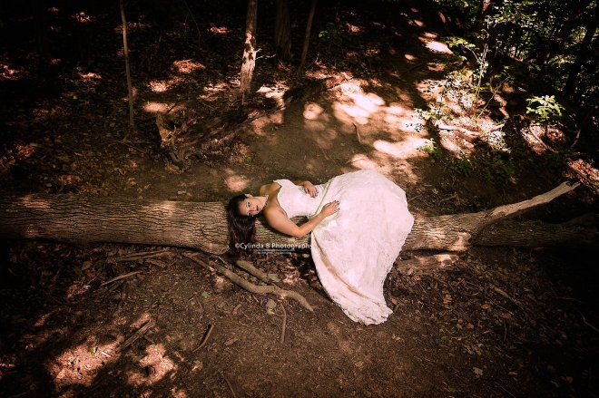 trash the dress, waterfall, carpenter falls, cylinda b photography-7