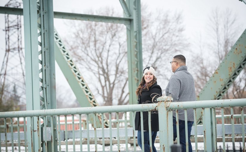 Village of Baldwinsville Engagement | Melissa & Jerryl