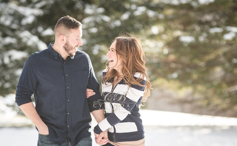 A Syracuse Winter Engagement | The Farm | Ashley & David
