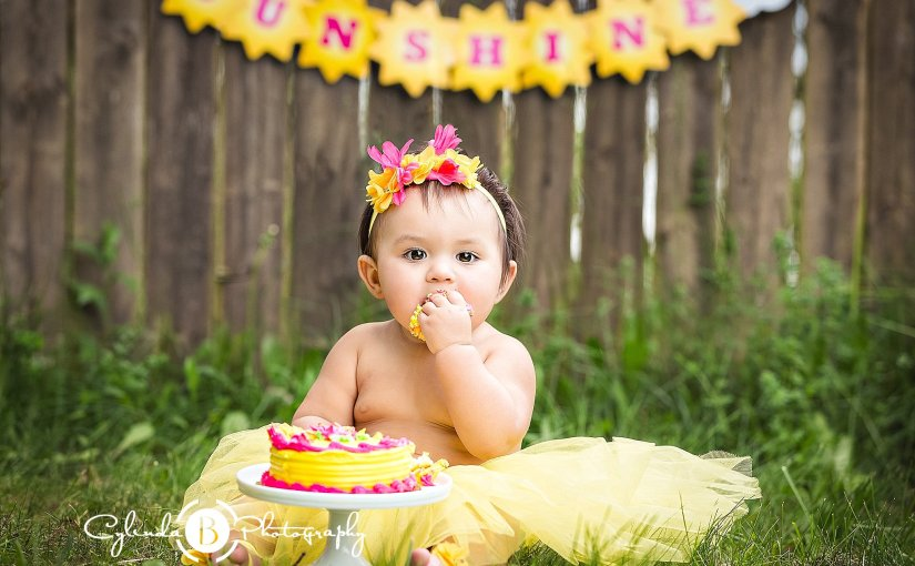 Cake Smash Photo Session | Syracuse Baby Photographer