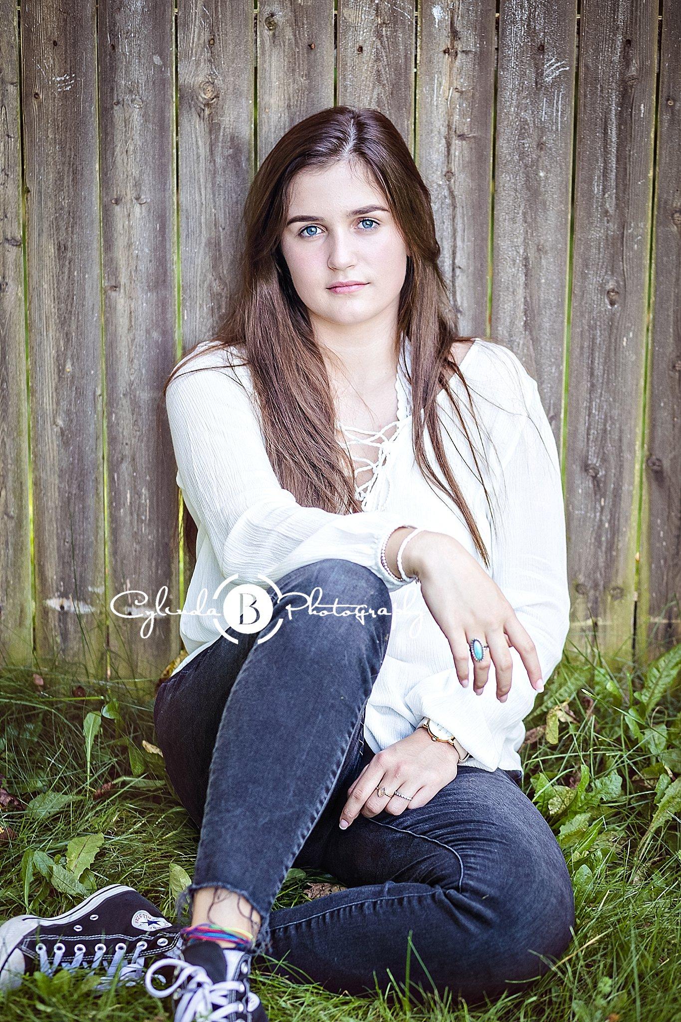 High School Senior Girl